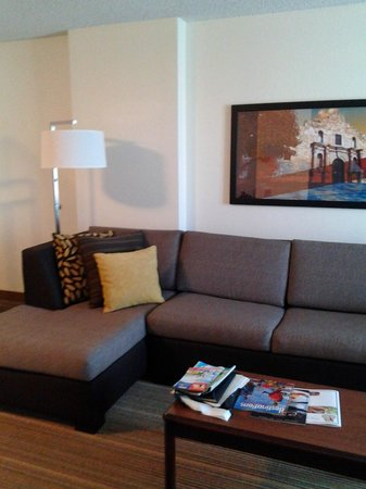 Residence Inn San Antonio Downtown/Alamo Plaza: Living room furniture