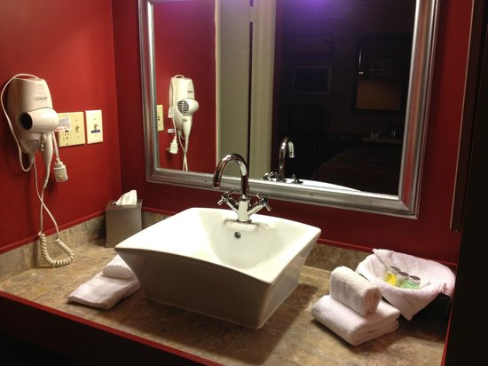 Vinehurst Inn & Suites: Bathroom Vanity