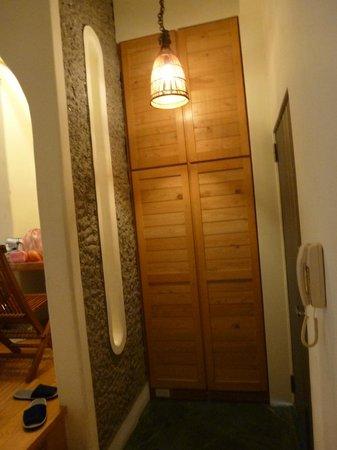 Papaya River B&B : Entrance of our room