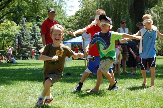 Cantigny Park : A place where kids can be kids