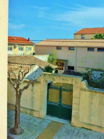 Hôtel de Thau: View from our balcony at Hotel de Thau
