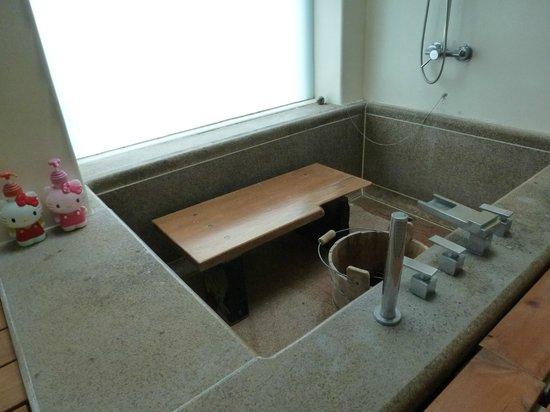Papaya River B&B : our Bathroom