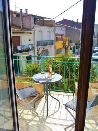 Hotel de Thau: Balcony room