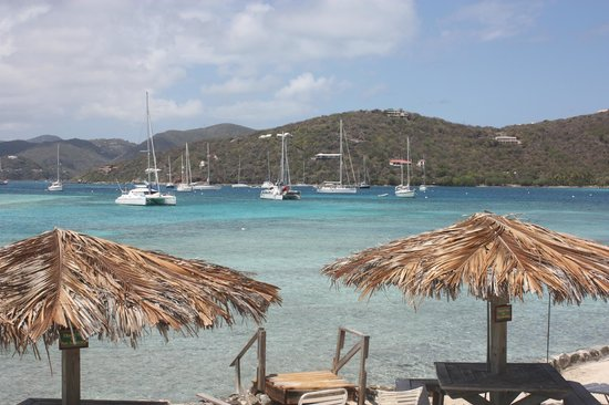 New Horizons & Breakaway Charters: Lunch on Marina Cay