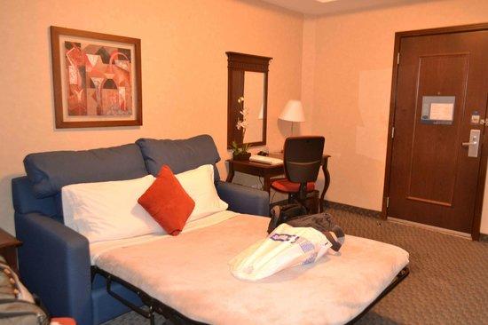 Hampton Inn & Suites Mexico City - Centro Historico: Sofá-cama.