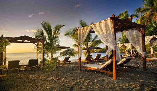 Ti Kaye Resort & Spa: Ti Kaye beach relaxing