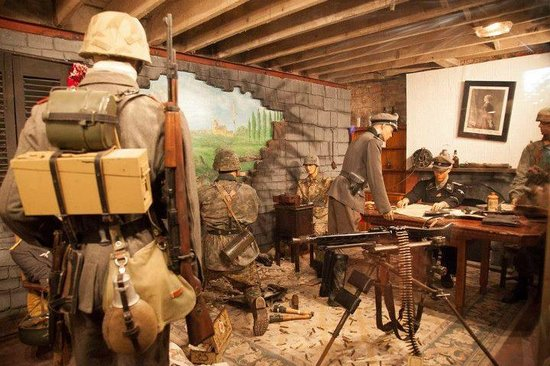 Duncannon Fort Visitor Centre: D.Day Room in our World at War Exhibition