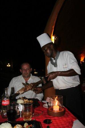 Southern Palms Beach Resort: Grill restaurant