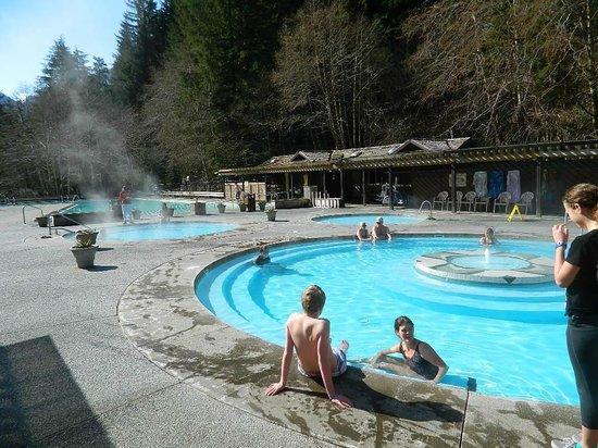 Sol Duc Hot Springs Resort : 103-degree hot pool