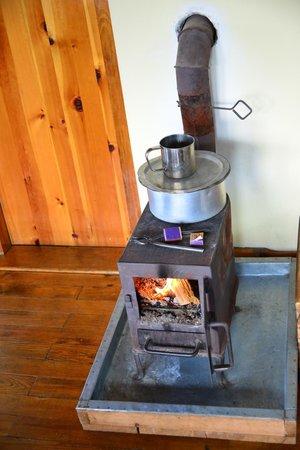 Dewachen Hotel: Modern heating...