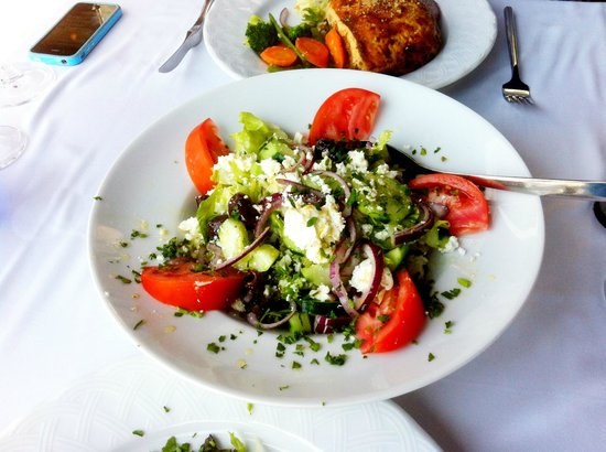Restaurant El Greco: Greek salad