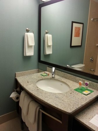 Hyatt Place Milwaukee Airport: Good quality towels and shampoos/soaps.