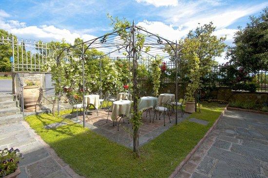 Giardino Villa Marsili Cortona