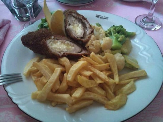Hotel Villa Majur: Delicious food