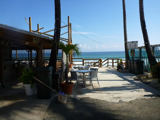 Beside The Pointe Inn: view outside room