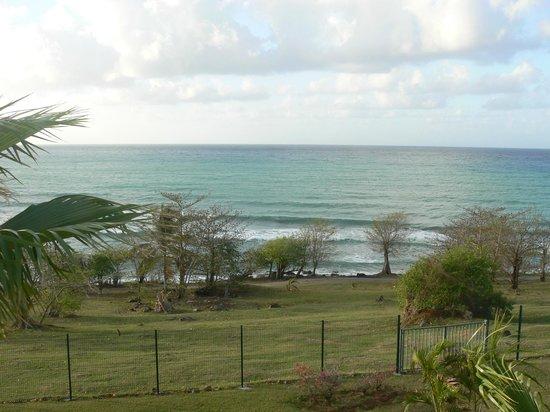 Karibea Resort Sainte Luce Amyris : Vue de la Terrasse de notre Chambre