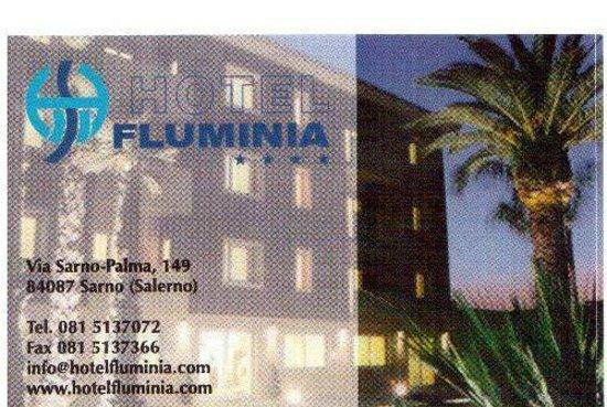Hotel Fluminia : biglietto