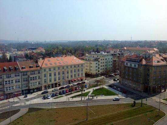 Hotel International Prague: The view from the 10th floor
