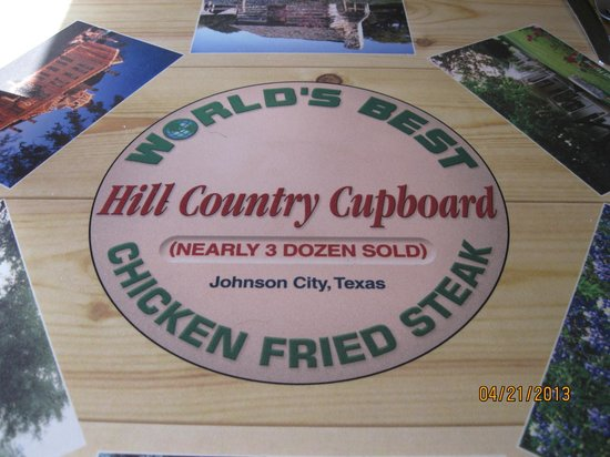 Hill Country Cupboard: Nearly 3 dozen served!