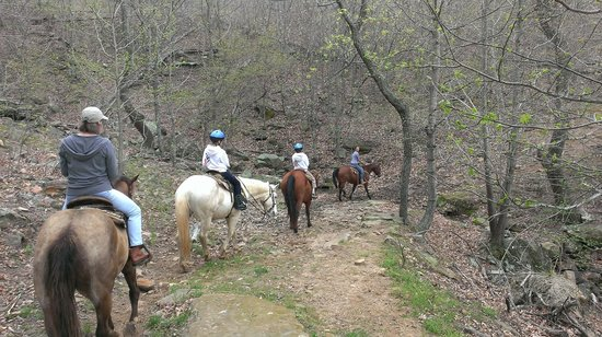 Horseshoe Canyon Ranch: On the trail