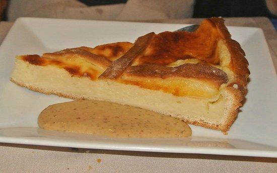 Hotel-Restaurant de la Plage : Dessert : tarte à gros bout