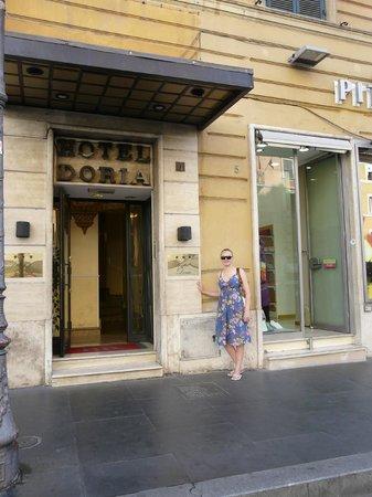 Hotel Doria: я у входа