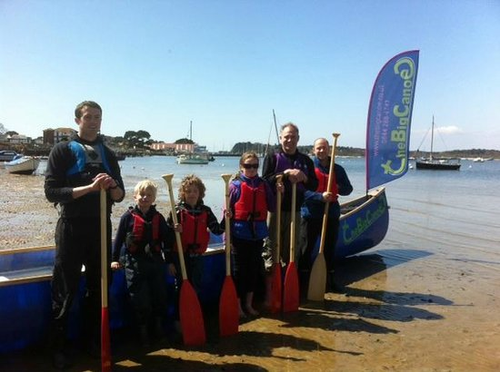 Paddling To Brownsea Island Picture Of The Big Canoe