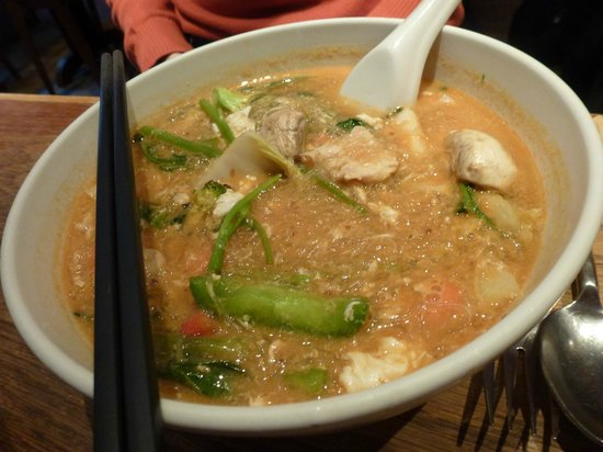 Mangosteen: chicken noodle soup