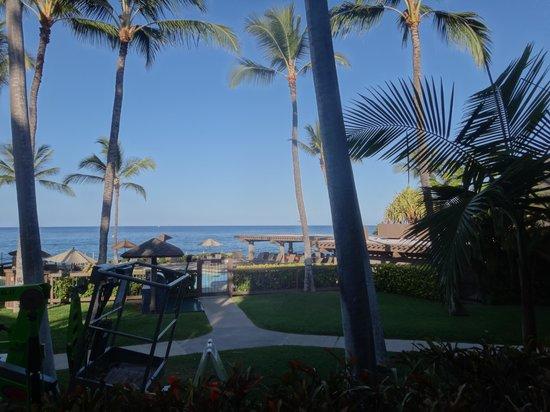 Kanaloa at Kona: view from our balcony