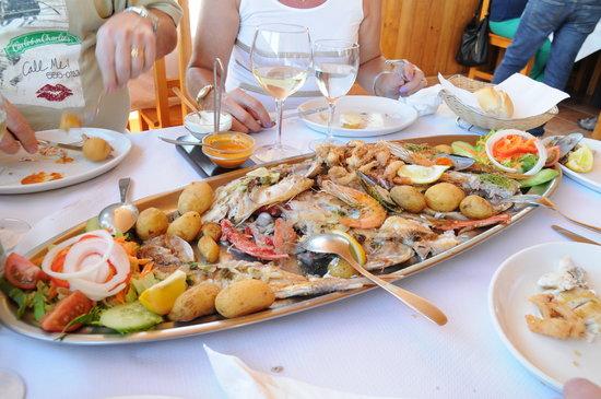 El Pescador: danie z ryb-mix