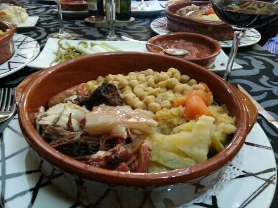 La Venta: cocido madrileño los martes! !!!!