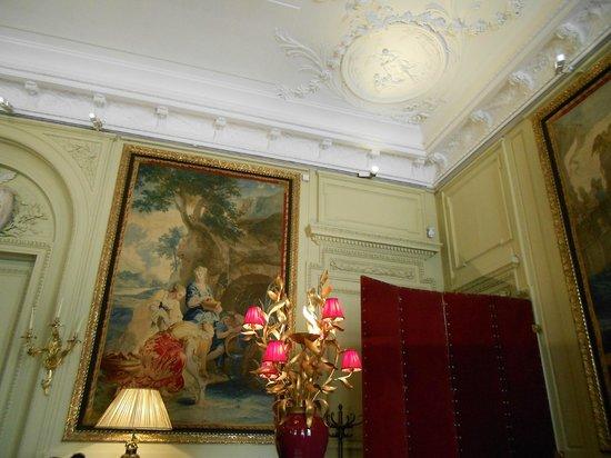 Le Cafe Jacquemart-Andre: Décor luxueux