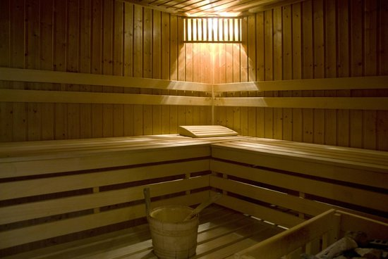 Hotel Wasserfall: Sauna