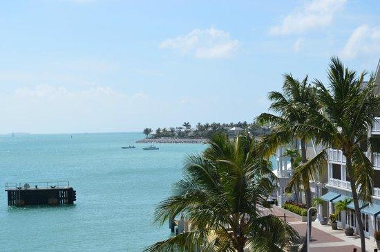 The Westin Key West Resort & Marina: Sunset Key from our balcony