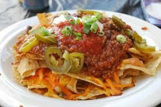 The Sturgis Haus: Our loaded Nacho's