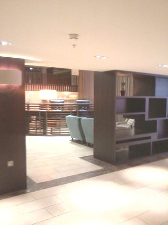 Sheraton Heathrow Hotel: lobby area / fron desk