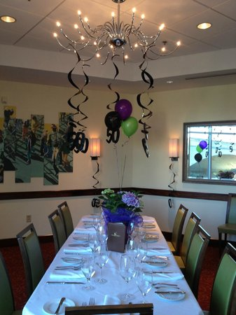 Halls Chophouse: Reedy River Private Dining Room