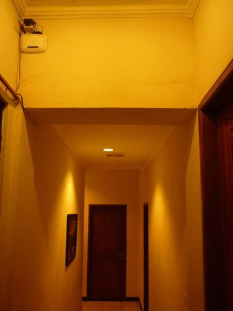 Cihampelas Hotel 2: Can you see, the router device is near my room.