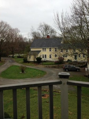 Stonecroft Country Inn: View from Sarah's Suite