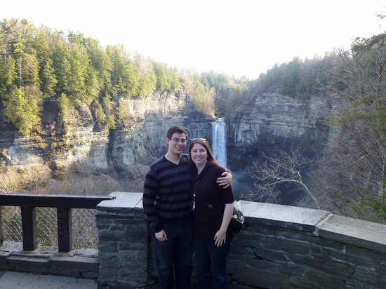Experience! The Finger Lakes Tours: Us at the falls