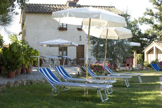 Podere Sant'Elena: relax piscina