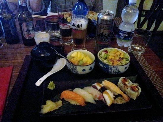 Yoshi Restaurant : menù1