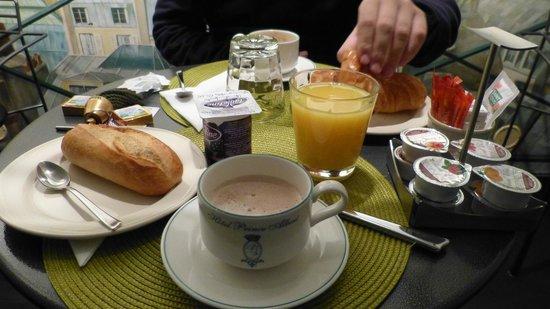 Prince Albert Lyon Bercy: desayuno!
