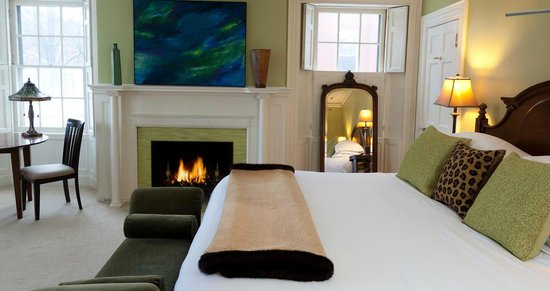 Portland Maine Boutique Hotel Guestroom Back Bay At The Danforth
