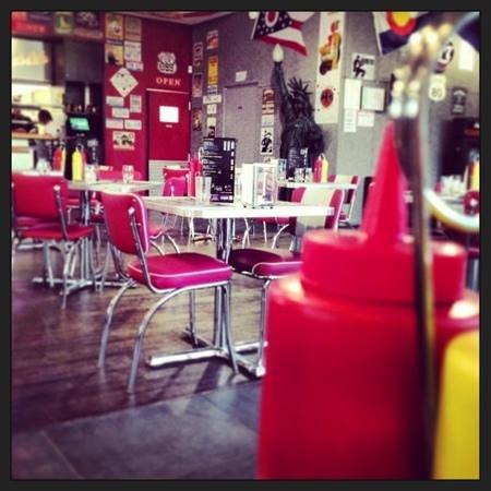 RockSide Café : ambiance typique US