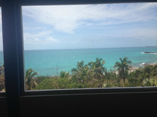 The Cove Eleuthera : View from check in area
