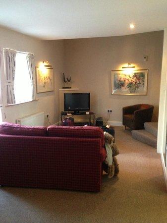 Best Western Pus Scottish Borders Selkirk Philipburn Hotel: The sitting area in Roxburgh
