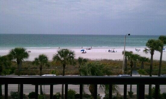 Holiday Inn Sarasota - Lido Beach: View from 3rd floor balcony was simply amazing