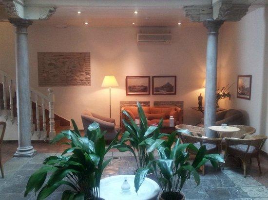 Hotel Palacio de Los Navas: Lobby Térreo