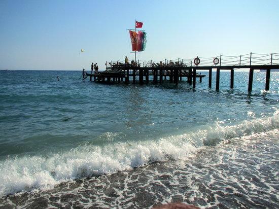 Hilton Dalaman Sarigerme Resort & Spa: On the shore